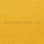 Фетр листовой. 2 мм. Желтый темный