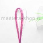 Проволока для цветов из капрона: 0,55 мм (№24). Розовый