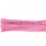 Пушистая проволока шенил (синель)  Розовая светлая