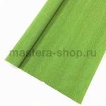 Гофрированная флористическая бумага Зеленая