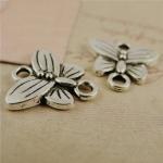 Коннектор серебряный Бабочка