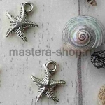 Серебрянная подвеска Морская звезда