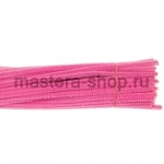 Пушистая проволока шенил (синель)  Розово-лососевая