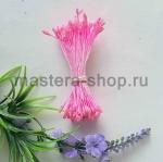 Тычинки средние с блеском Розовые на розовой нити (1,5-2 мм)