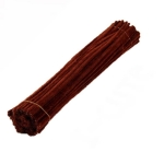 Пушистая проволока шенил (синель) Шоколад