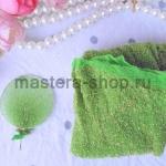 Капрон для цветов Зеленый светлый с серебром