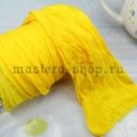 Капрон для цветов Лимонный средний