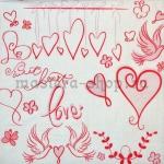 Салфетка Sweet Heart Love