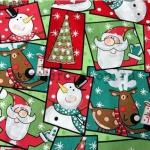 Ткань для печворка и рукоделия Веселое Рождество