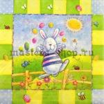 Салфетка Пасхальный кролик