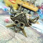 Винтажная подвеска Пиратский череп