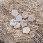 Перламутровая подвеска Цветок рифленый