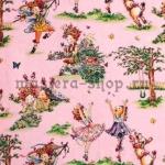 Ткань для печворка и рукоделия Девочки
