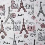 Ткань для печворка и рукоделия Paris