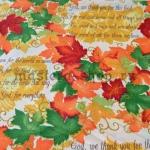 Ткань для печворка и рукоделия: Кленовое письмо