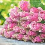 Салфетка Букет розовых роз