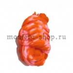Капрон для цветов Оранжевый+Ярко-розовый
