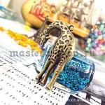 Винтажная подвеска Жираф