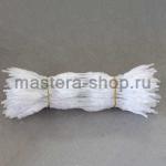 Неравномерная проволока шенил (синель) Белая