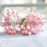 Тычинки большие Бело-розовые (5 мм)