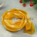 Капрон для цветов Желтый яркий+Белый