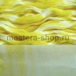 Капрон для цветов Лимонный+Белый