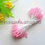 Тычинки сахарные малые светло-розовые (2 мм)