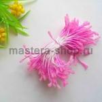 Тычинки сахарные малые розовые (2 мм)