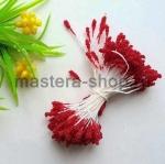 Тычинки сахарные малые темно-красные (2 мм)