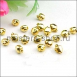 Бубенчики золото 5 шт