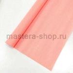 Гофрированная флористическая бумага Лососевая