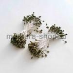 Тычинки средние оливковые темные (2-3 мм)