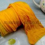 Капрон для цветов Желтый темный