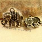 Винтажная подвеска Слон
