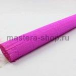 Гофрированная флористическая бумага Розовая яркая