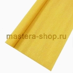 Гофрированная флористическая бумага Желтая темная