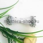 Тычинки малые серебро (1-1,5 мм)