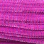 Проволока шенил (синель) Лилово-розовая