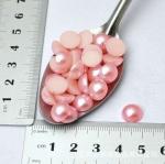 Полужемчужины 10 мм. 10 шт. Розовый