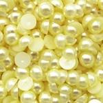 Полужемчужины 10 мм. 10 шт. Желтые светлые