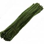 Пушистая проволока шенил (синель) Травяная