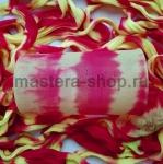 Капрон для цветов Красный+Лимонный