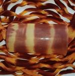 Капрон для цветов Коричневый+желто-оранжевый