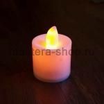 Cветодиодные свечи LED - розово-оранжевое пламя