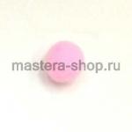 Помпоны 8-10 мм. Розовые светлые. 5 шт.