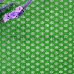 Фетр в цветочек. Зеленый