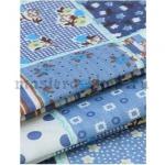 Ткань для печворка и рукоделия Джинсовые квадраты