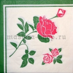 Салфетка Роза