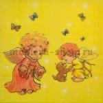 Пачка салфеток Ангелочки с собачкой