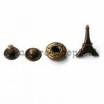 Декоративная застежка-кнопка Эйфелева башня